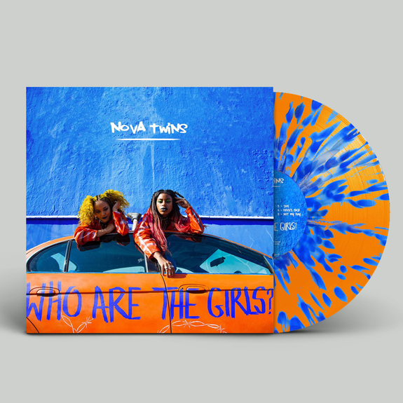 Nova Twins: Who Are The Girls?: Signed Exclusive Orange + Blue Splatter Vinyl