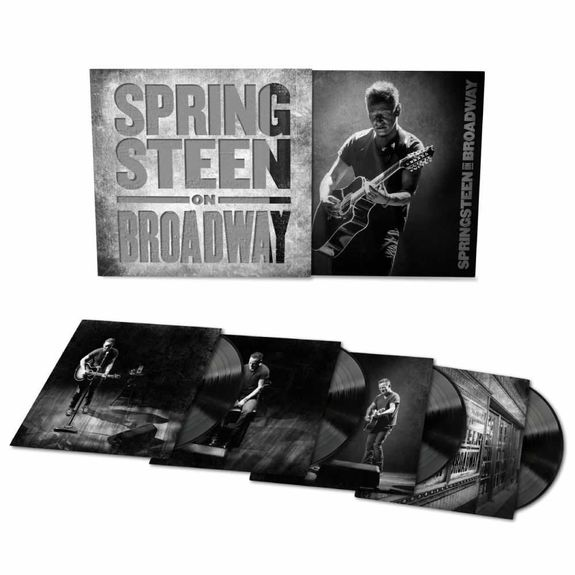 Bruce Springsteen: Springsteen On Broadway: Heavyweight Vinyl 4LP