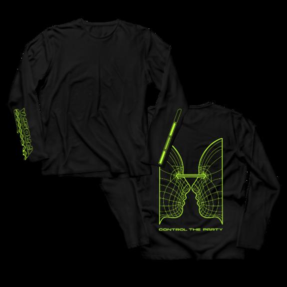 Prospa: CTP Black/Green Longsleeve