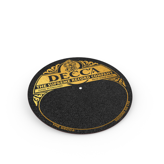 Various Artists: DECCA SUPREME record player slipmat