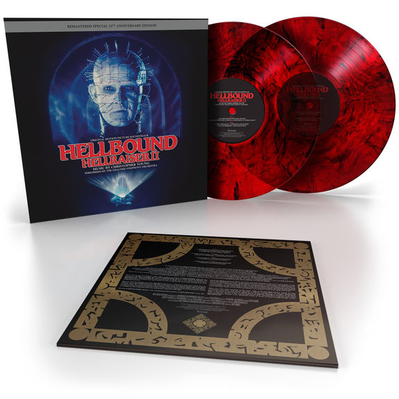 Christopher Young: Hellbound: Hellraiser II: Red W/ Black Smoke 'Bloodshed Vinyl'