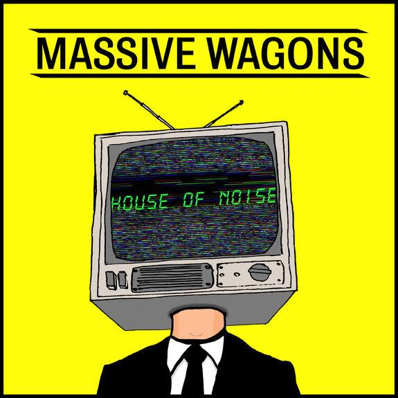 Massive Wagons: House of Noise: Black Vinyl