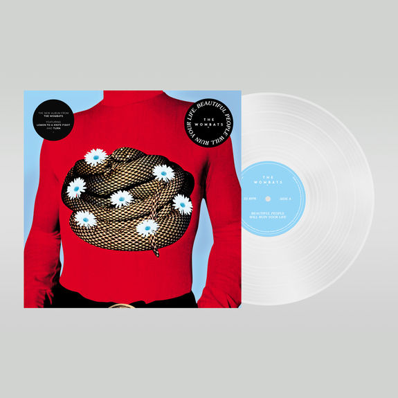 The Wombats: Beautiful People Will Ruin Your Life: White Vinyl
