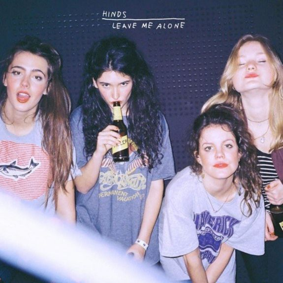 Hinds: Leave Me Alone: Deluxe Yellow Vinyl