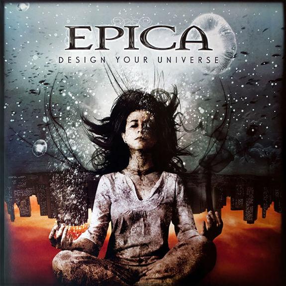 Epica: Design Your Universe Clear Vinyl