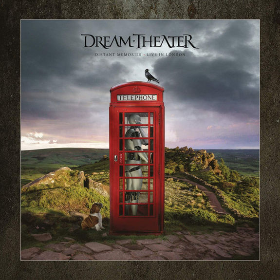 Dream Theater: Distant Memories – Live in London: Limited Deluxe Edition 3CD, 2Blu-Ray, 2DVD + 44-page Artbook