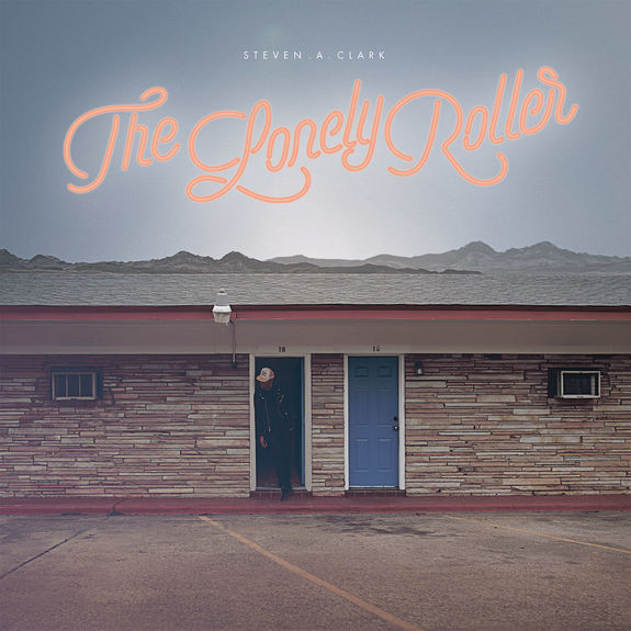 Steven A Clark: The Lonely Roller: Blue Vinyl