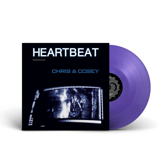 Chris & Cosey: Heartbeat: Limited Edition Purple Coloured Vinyl
