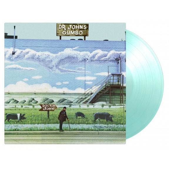 Dr. John: Dr. John's Gumbo: Limited Edition Gatefold Turquoise Vinyl