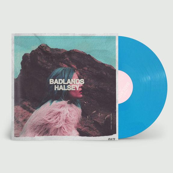Halsey: Badlands: Limited Edition Blue Gatefold Vinyl
