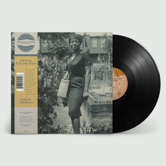 Jeff Parker: Suite For Max Brown: Black Vinyl LP + OBI Strip