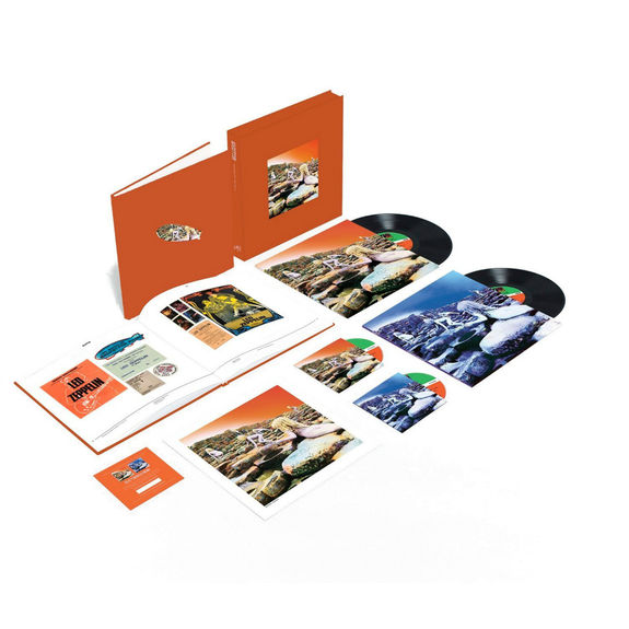 Led Zeppelin: Led Zeppelin - Houses of the Holy: Super Deluxe Edition CD + Vinyl Box