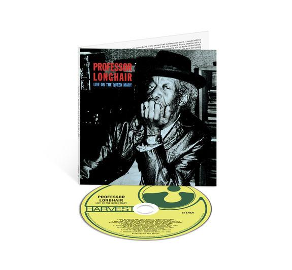 Professor Longhair: Professor Longhair: Live On The Queen Mary - CD
