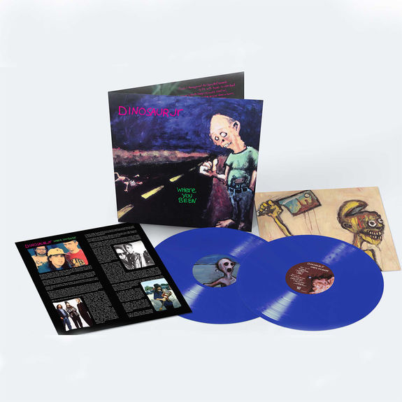 Dinosaur Jr: Where You Been: Deluxe Expanded Edition Double Blue Vinyl