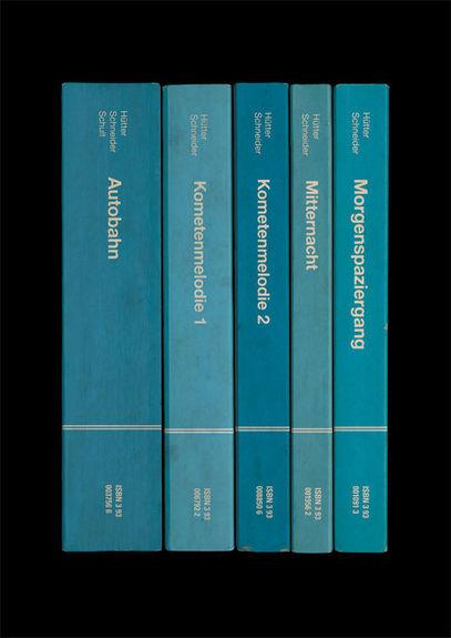 Kraftwerk: 'Autobahn' Album As Books Art Print