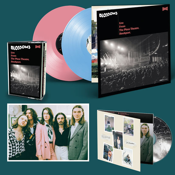 Blossoms: DOUBLE CD (SIGNED), DOUBLE COLOURED LP , DOUBLE COLOURED CASSETTE (SIGNED) & PRINT BUNDLE