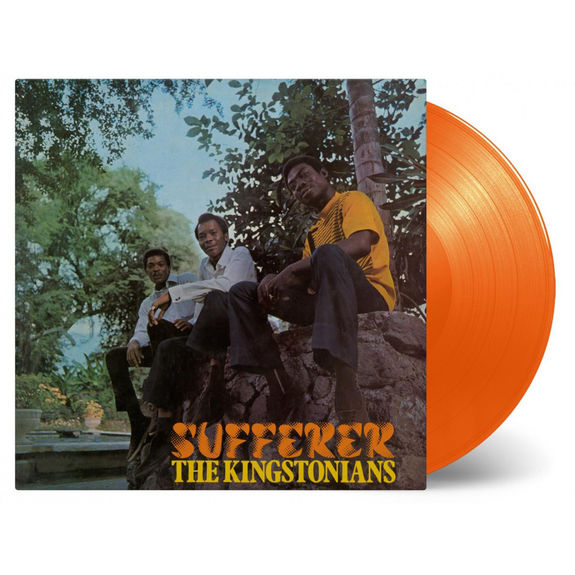 The Kingstonians: Sufferer: Orange Vinyl