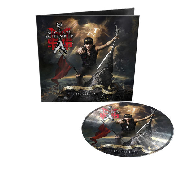 MSG: Immortal: Limited Edition Gatefold Vinyl Picture Disc + Signed Photocard