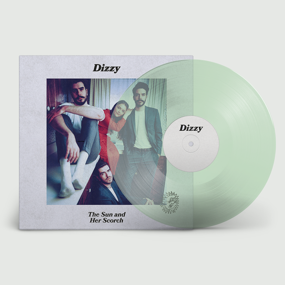 Dizzy: The Sun and Her Scorch: Coke Bottle Clear Vinyl LP + Exclusive Signed Print