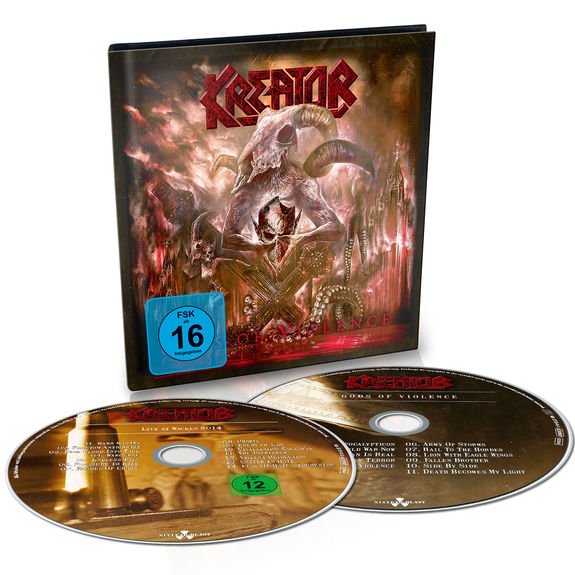 Kreator: Gods Of Violence: Ltd. Edition Digibook
