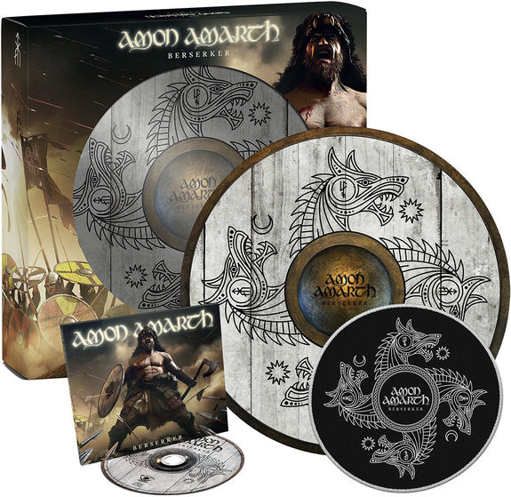 Amon Amarth: Berserker: Limited Edition Shield Boxset