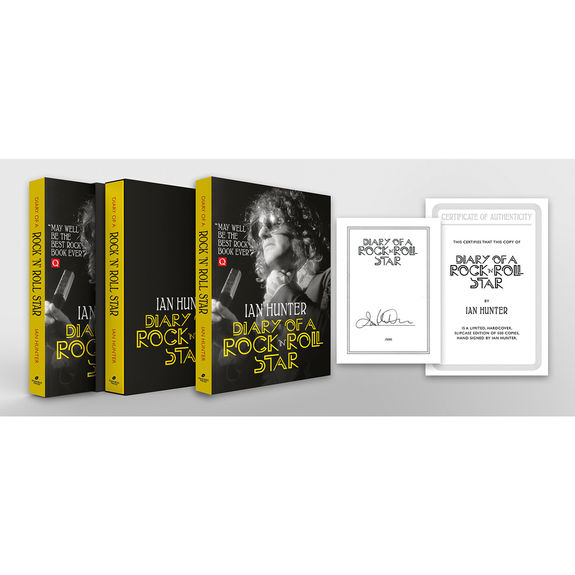 Ian Hunter: Diary Of A Rock N Roll Star: Signed and Numbered Deluxe Edition
