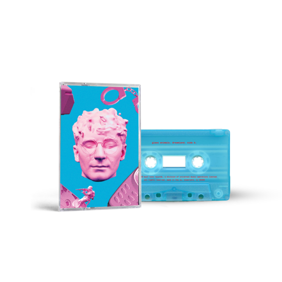 Glass Animals: Dreamland Dave Blue Art Cassette