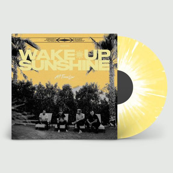 All Time Low: Wake Up Sunshine: Limited Edition Custard + White Splatter Vinyl