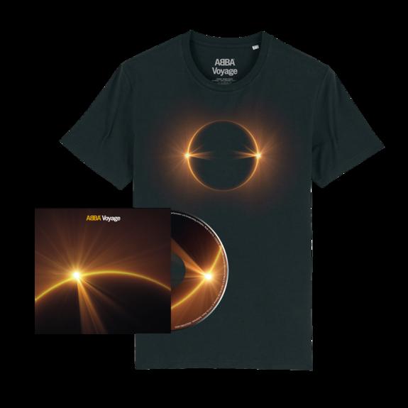 Abba: Voyage (CD & Eclipse Tee Bundle)