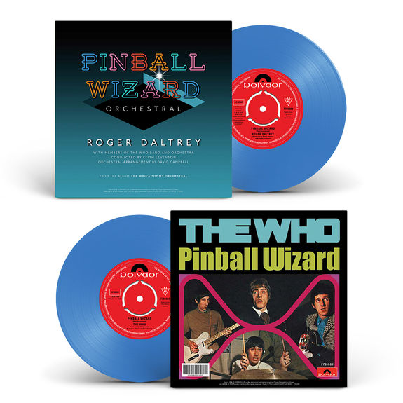 "The Who: PINBALL WIZARD (WORLD EXCLUSIVE LIMITED DOUBLE A SIDE BLUE 7"")"