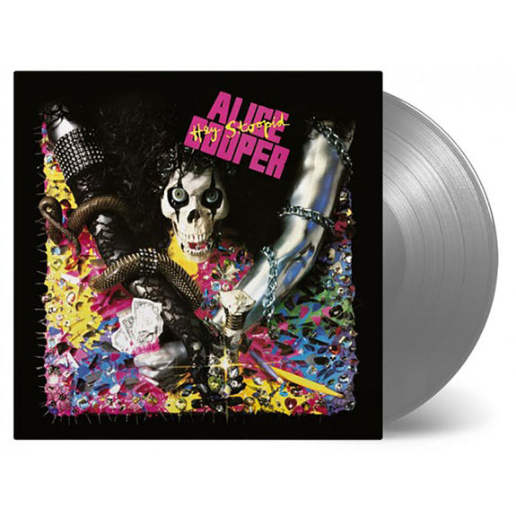Alice Cooper: Hey Stoopid: Silver Coloured Vinyl