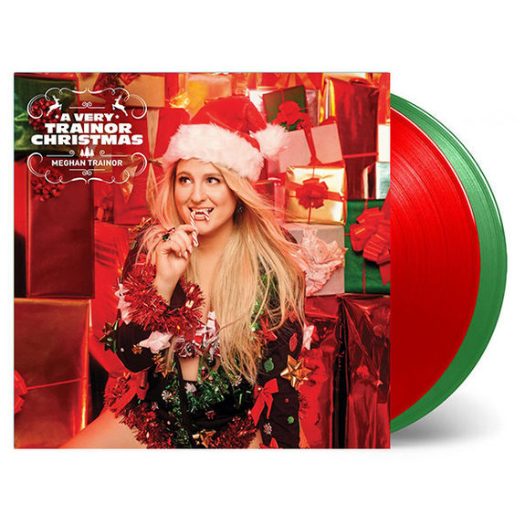 Meghan Trainor: A Very Trainor Christmas: Limited Edition Red + Green Vinyl
