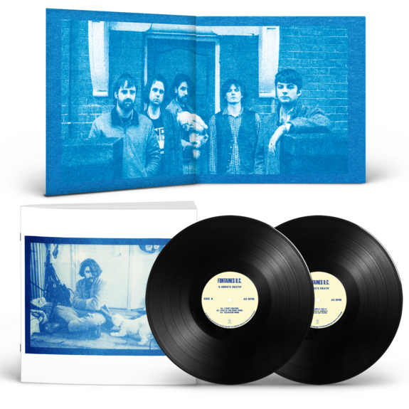 Fontaines D.C.: A Hero's Death: Deluxe Gatefold 2LP + Signed