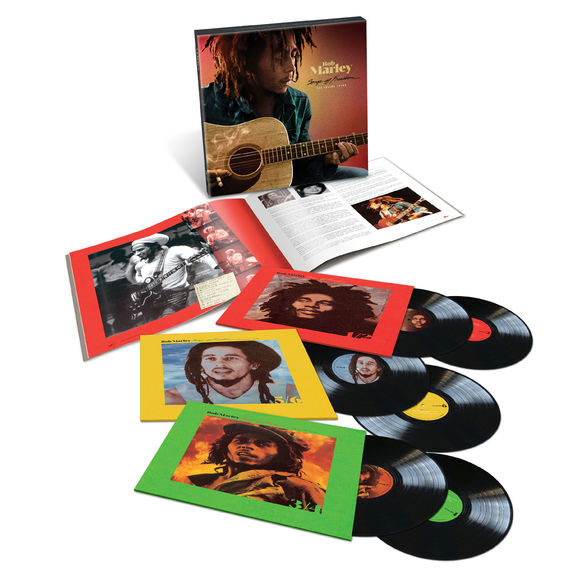 Bob Marley and The Wailers: Songs Of Freedom: The Island Years 6LP Box Set