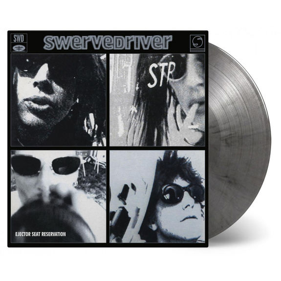 Swervedriver: Ejector Seat Reservation: Mixed Silver + Black Double Numbered Vinyl
