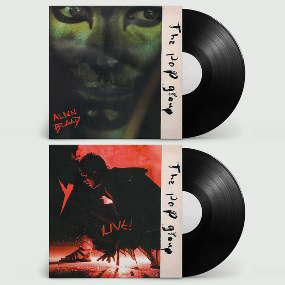 The Pop Group: Alien Blood + Y Live + Signed Lucky Dip Print