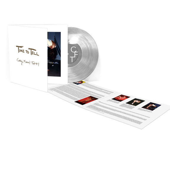 Cosey Fanni Tutti: Time To Tell (Deluxe Edition): Clear Vinyl