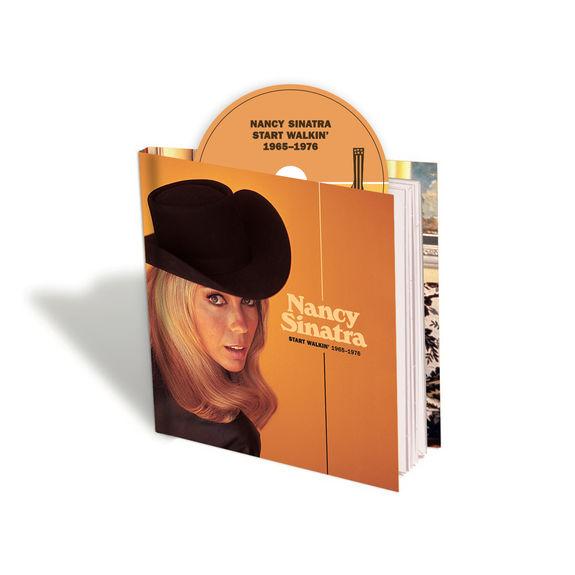 Nancy Sinatra: Start Walkin' 1965-1976: Deluxe CD Hardcover Book
