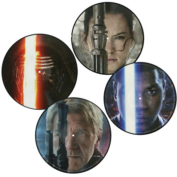 John Williams: Star Wars: The Force Awakens (2LP Picture Disc Set)