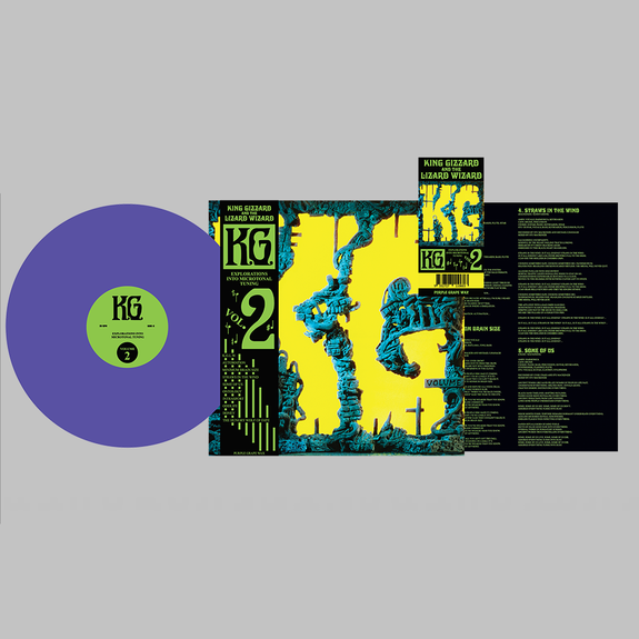 King Gizzard & The Lizard Wizard: K.G.: Purple Grape Edition