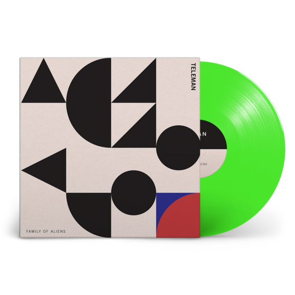 Teleman: Family of Aliens: Signed Fluorescent Green Vinyl