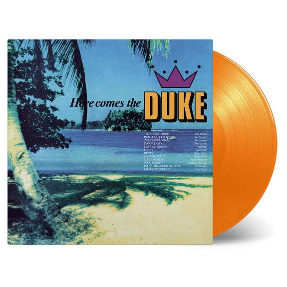 Various Artists: Here Comes The Duke: Orange Vinyl