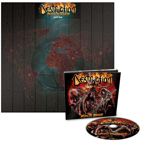 Destruction: Born To Thrash (Live In Germany) Limited Edition Digipack CD