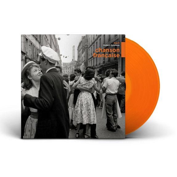Various Artists: Chanson Française: Limited Edition Orange Vinyl