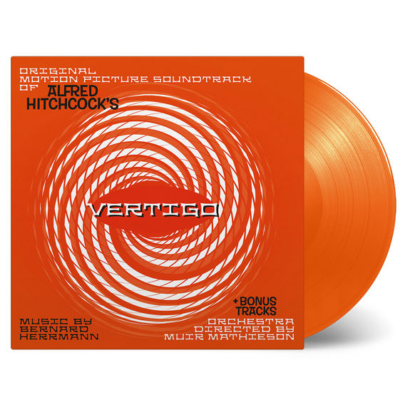 Bernard Hermann: Vertigo Original Soundtrack: Orange Vinyl