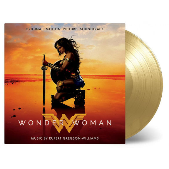 Rupert Gregson-Williams: Wonder Woman: Numbered Gold Vinyl
