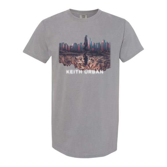 Keith Urban: Skyline Grey T-Shirt