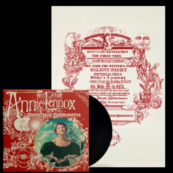 Annie Lennox: A Christmas Cornucopia (10th Anniversary) : LP + Screenprint