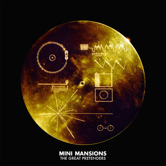 Mini Mansions: The Great Pretenders: Signed Gold Vinyl