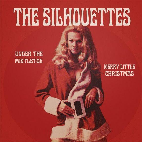 The Silhouettes: Under The Mistletoe / Merry Little Christmas: White Vinyl